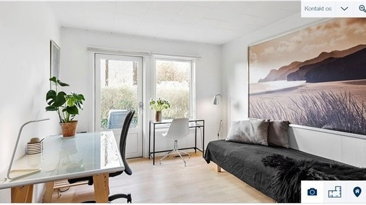 Værelse Fully furnished room for international students in a popular part of Greater Copenhagen