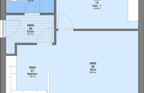 Hus/villa 2 værelses hus/villa på 62 m2