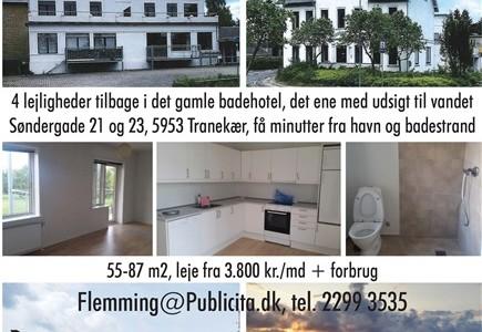 Lejlighed 2-værelses i Lohals, Langeland