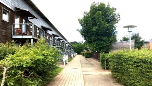 Lejlighed Dejlig lejlighed i grønne omgivelser