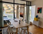 Lejlighed Luxury Furnished loft with stupendous windows and glass walls (2 bedroom/2 floors)