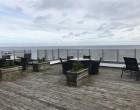 Lejlighed Penthouse med 180 graders havudsigt i første række til Øresund. Altaner og tagterrasse