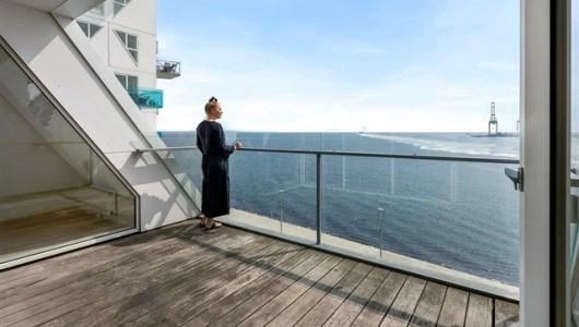 Lejlighed Stor udsigts penthouselejlighed på Aarhus Ø