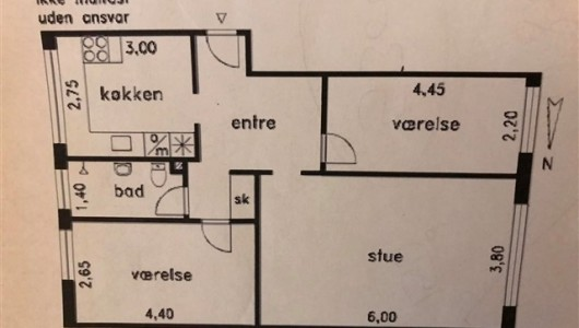 Lejlighed Super central stor 3.V  Taastrup Lejlighed på 2. sal,  i det venlige Lindevangshusene område