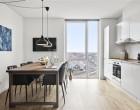 Lejlighed 5-værelses lejlighed i 3 plan på toppen af Kronen i Vanløse