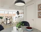 Lejlighed Attraktiv nyetableret taglejlighed på 124 m² med fransk altan