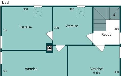 Hus/villa Hyggelig landlig villa