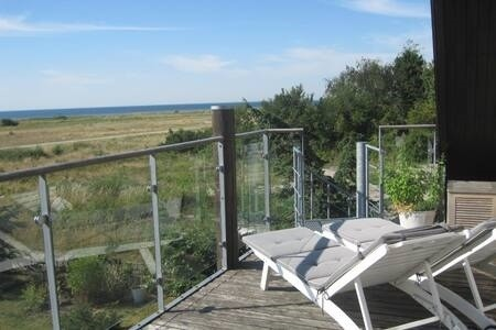 Lejlighed Lovely flat next to sea with stunning seaview