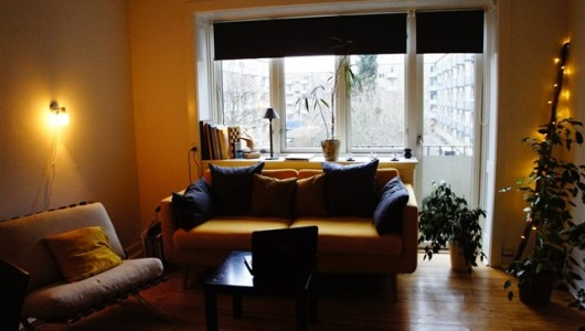Værelse No Cpr- But a 22 sqm room with balcony at Østerbro for 3 months  for a single person