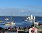 Lejlighed Udsigt over lystbådehavn og fjord